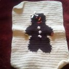 Handcrafted Crocheted Gingerbread Lady Potholder