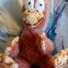"Handcrafted Crocheted Stuff Animal ""Twerky the Quirky Bird"""