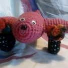 Handcrafted Crochet Airplane Stuffed Toy
