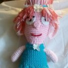 """Handcrafted Crocheted """"Princess Poppy"""" Stuffed Doll/Tohy"""