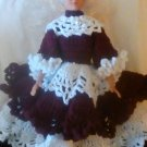 """Handcrafted Crocheted """"Elizabeth"""" Blond Doll"""