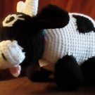 Handcrafted Crocheted Stuffed Cow Toy/Doll/Animal