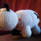 Handcrafted Crocheted Stuffed Pig Toy/Doll/Animal