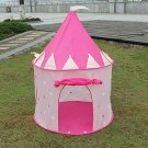 "Lot of ""2"" Princess Castle Play Tent W Glow In The Dark Stars Folds To A Carry"