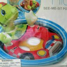 """Toddler Pool Toy Turtle See-Me-Sit Rider 30 X 23"""" Intex Inflatable Ages 3-4 New"""