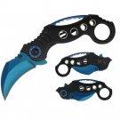 Impulse Product Karambit 3 in Blue Blade Black Handle