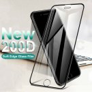 Protective Tempered Glass On The For iPhone 200D Curved Edge