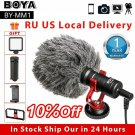 BOYA BY-MM1 Video Record Microphone for Camera Smartphone Osmo Pocket