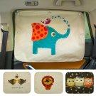 Car Windshield Car Sun Shade Curtains Cute Cartoon Car Styling Rear Side Window