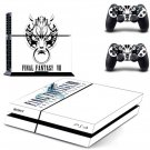 Final Fantasy 7 VII Vinyl Skin Sticker Cover for Sony PS4 PlayStation 4 and 2 controller skins