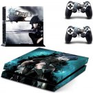Final Fantasy.XV PS4 Skins PS4 Sticker Vinyl Decal Film For Sony PS4 Console+Remote Controller
