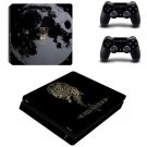 Final Fantasy Decal Skin PS4 Slim Console+Controller Decals Sticker Kit for Sony PS4 Slim Full Body