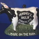 Cookie Jar Candy Jar Hershey's Milk Chocolate Made on the Farm MINT Condition