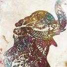 Elephant Graphic Art