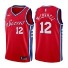 Philadelphia 76ers T.J. McConnell #12 Red Statement Stitched Jersey