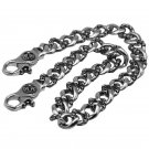 Chrome Hearts Tote hook  Chain,Domineering Pants waist chain.S925 Sterling Silver Hand - made