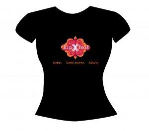 Hip Fest T Shirt w Instructor Names