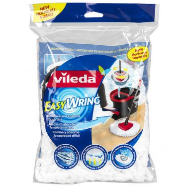 Vileda Easy Wring Mop Replacement Head 4 Heads From Canada