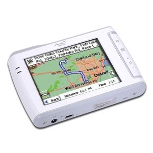 "Mio C310x Portable GPS Auto Navigation System 3.5"" TFT Color Touch Screen (Refurbished)"