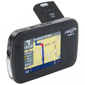 Maxx Digital Explorer II Portable GPS System w\ Media Player for MP3, & MPEG4 Movies