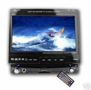 Lg Screen Bluetooth Car DVD Player - 1-Din + SubOut NEW
