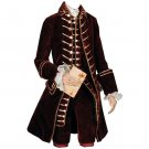 Custom made 18th Century Marie Antoinette costume medieval mens suit