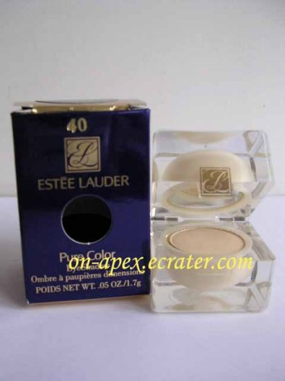 ESTEE LAUDER PURE COLOR EYESHADOW #40 Lemon Square NIB