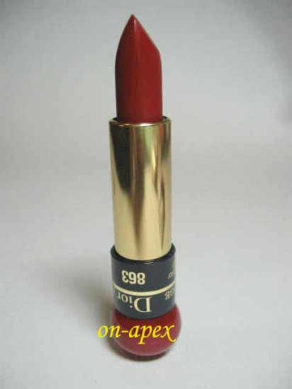 CHRISTIAN DIOR ROUGE LIPSTICK # 863 Holiday Red NEW
