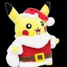 "Pokemon Pikachu Christmas Santa Claus 10"" Plush Stuffed Doll Xmas Kids Gift"