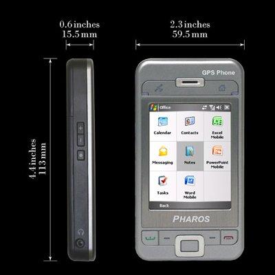 Pharos 600e GPS Phone (Unlocked)