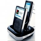 Zicplay ZPEWOOBUNDLEBLK LCD Remote with Docking Station