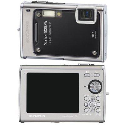 Olympus Stylus 1030 SW Digital Camera - Black
