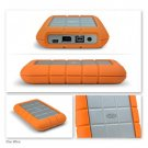 LaCie 250 GB Rugged Hard Disk with FireWire 800, FireWire 400, and USB2.0