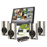 Wilife Pro 4CAM Master Syst Pro Ip Video Security Syst 4CAMS