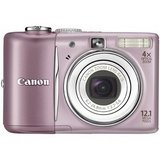 PowerShot A1100 IS Point & Shoot Digital Camera - Pink