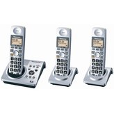 Panasonic KX-TG1033S Digital Cordless Phone with Three Handsets