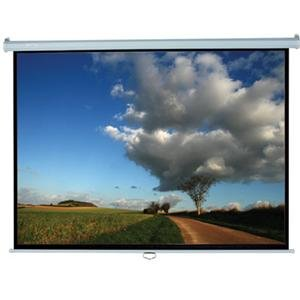 Elite Screens Manual Series Manual Wall and Ceiling Projection Screen M150XWH