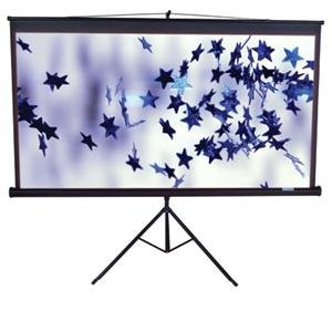 Elite Screens Tripod Portable Projection Screen T100UWV1