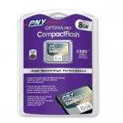 PNY 8GB Optima Pro CompactFlash High speed Card - 133x P-CF8G-133W-RF3