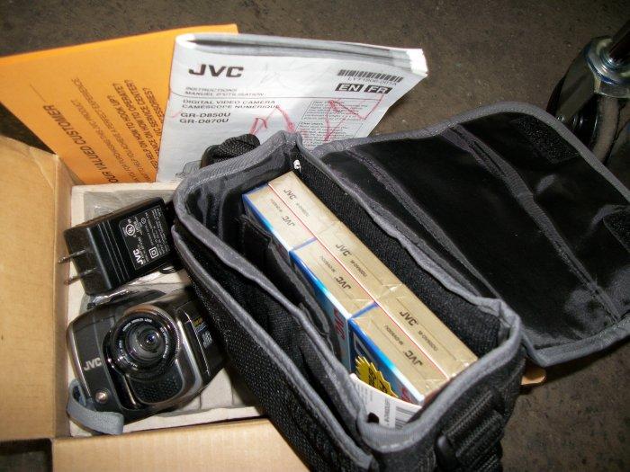 JVC GR-D850 Digital Camcorder