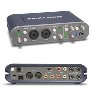 M-Audio Fast Track Pro Audio Mixer