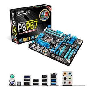 Asus P8P67 (REV 3.1) Desktop Motherboard - Intel - Socket H2 LGA-1155