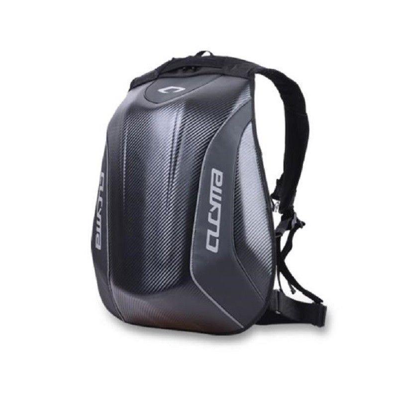 Motorcycle Backpack Carbon Fiber Motocross Racing Riding Helmet Bag Motorbike