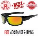 Polarized Sunglasses Vintage Mirror Coating Driver Men Anti-glare Sun 100% UV400