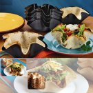 PERFECT TORTILLA Baking Mold Pan Set As Seen on TV NEW Taco Bowl - NEW - 2018