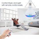 Wireless Bluetooth Speaker Smart Led Light Music Player Audio RGB Bulb LED Lamp