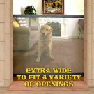 Mesh Magic Pet Dog Gate Safe Guard And Install Anywhere Pet Safety Enclosur