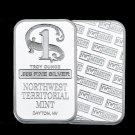 Northwest Territorial Mint coin collection,1oz 999 fine SILVER Bar WR Quality