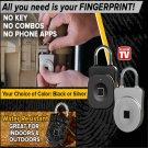 Perfect Smart Lock Fingerprint Scanning Smartlock Waterproof Multi Use Intelligent Padlock