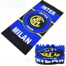INTER MILAN FC 2 Crezy Skull Motorcycle Cycling Neck Scarf Half Face Mask Bandana Ski